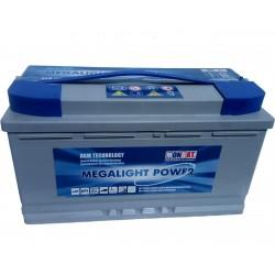Akumulator głębokiego rozładowania 100 Ah P+ SOLAR AGM Monbat