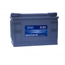 Akumulator głębokiego rozładowania 115 Ah P+ SOLAR AGM Monbat