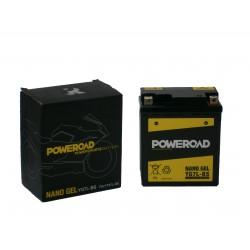 Akumulator motocyklowy POWEROAD YG7L-BS (YTX7L-BS) 7Ah 120A 12V  ŻEL