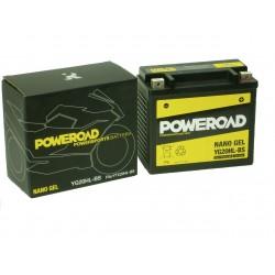 Akumulator motocyklowy POWEROAD YG20HL-BS (YTX20HL-BS) 12Ah 250A 12V ŻEL