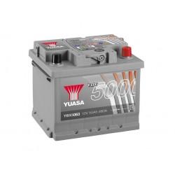 Akumulator YUASA silver 50Ah P+ YBX5063