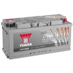 Akumulator YUASA silver 110Ah P+ YBX5020