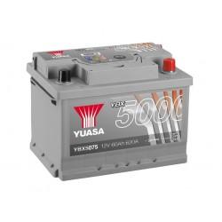 Akumulator YUASA silver 60Ah P+ YBX5075