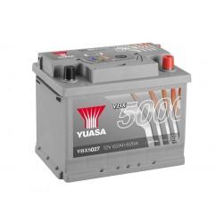Akumulator YUASA silver 62Ah P+ YBX5027
