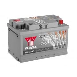 Akumulator YUASA silver 75Ah P+ YBX5100
