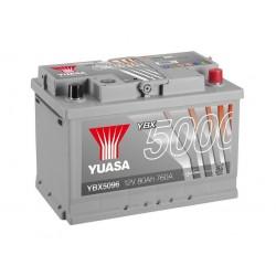 Akumulator YUASA silver 80Ah P+ YBX5096