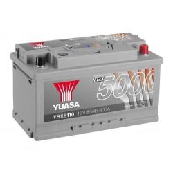Akumulator YUASA silver 85Ah P+ YBX5110