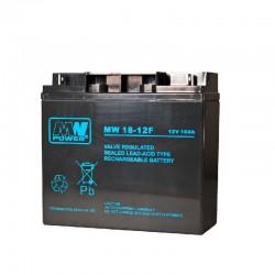 Akumulator przemysłowy MW 12V 18Ah AGM