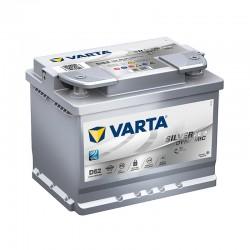 Akumulator Varta Silver AGM 60Ah P+ D52