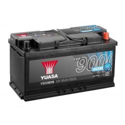 Akumulator YUASA AGM 95Ah P+ YBX9019 Start Stop