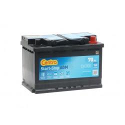Akumulator Centra AGM Start Stop 70Ah P+ CK700