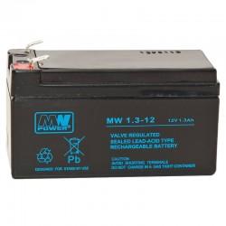 Akumulator przemysłowy 12V 1,3Ah MW