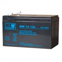 Akumulator przemysłowy 12V 12Ah MW do UPSa, Hulajnogi