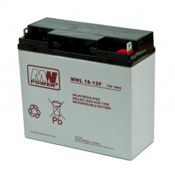 Akumulator przemysłowy 12V 18Ah MWL