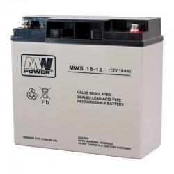 Akumulator przemysłowy 12V 18Ah MWS