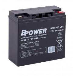 Akumulator przemysłowy 12V 22Ah BPower BV22-12