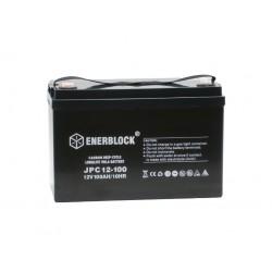 Akumulator przemysłowy 12V 100Ah Enerblock carbon JPC 12-100