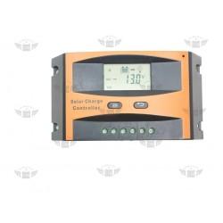 Regulator ładowania solarny PWM VOLT SOL 10A LCD 12V/24V