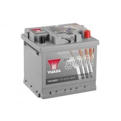 Akumulator YUASA silver 52Ah P+ YBX5012