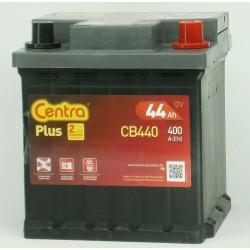 Akumulator Centra Plus 44Ah CB440 P+ kostka FIAT