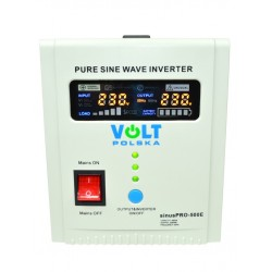 Przetwornica sinusoidalna VOLT SINUSPRO 500E 12V 500W UPS