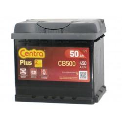 Akumulator Centra Plus 50Ah CB500 P+