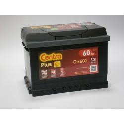 Akumulator Centra Plus 60Ah P+ CB602
