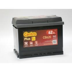 Akumulator Centra Plus 62Ah P+ CB620