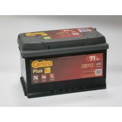 Akumulator Centra Plus 71Ah P+ CB712