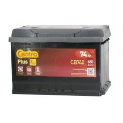 Akumulator Centra Plus 74Ah P+ CB740